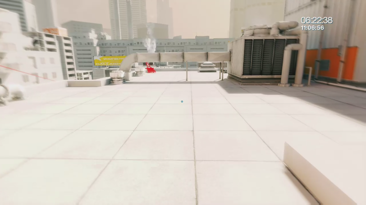 PinchiCain playing Mirror's Edge