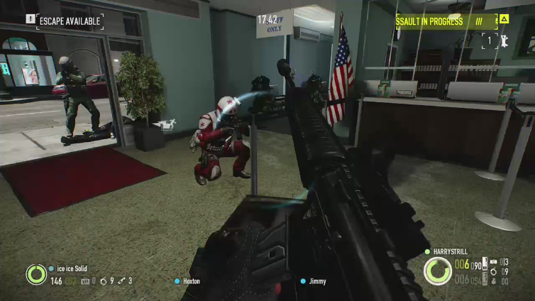 HARRYSTRILL playing Payday 2: Crimewave Edition
